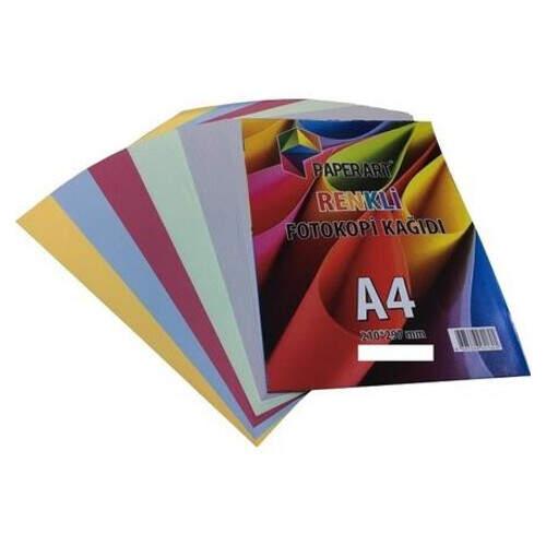 Paperart A4 Fotokopi Kağıdı 30lu Renkli