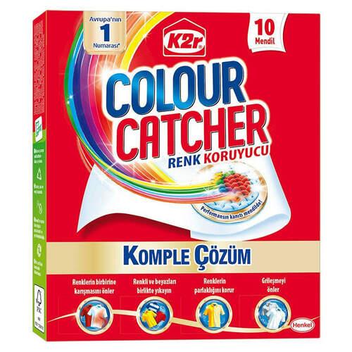 K2r Colour Catcher Renk Koruyucu Mendil 10'lu