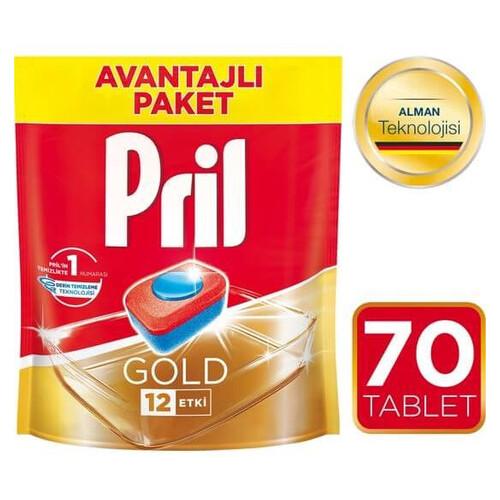 Pril Dypack Gold Bulaşık Makinesi Tableti 70 Li