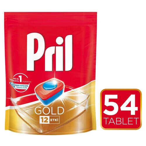 Pril Gold Doypack Tablet 54'lü