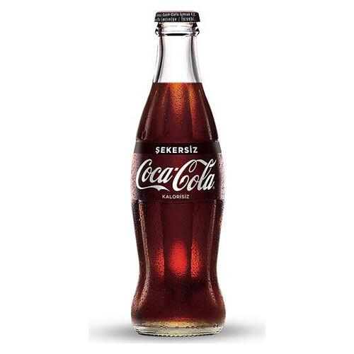 Coca-cola 250ml.cam Şekersiz
