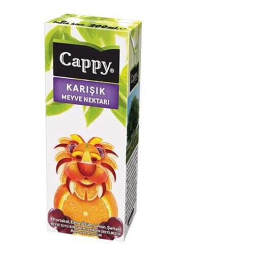Cappy Meyve Suyu Karışık 200 Ml.