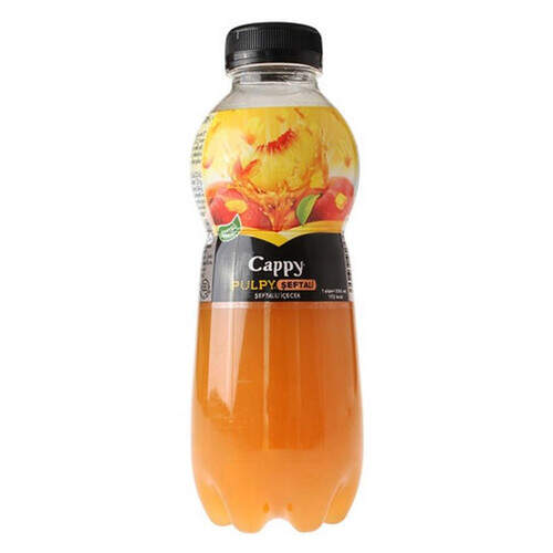 Cappy Pulpy Şeftali 330 Ml.