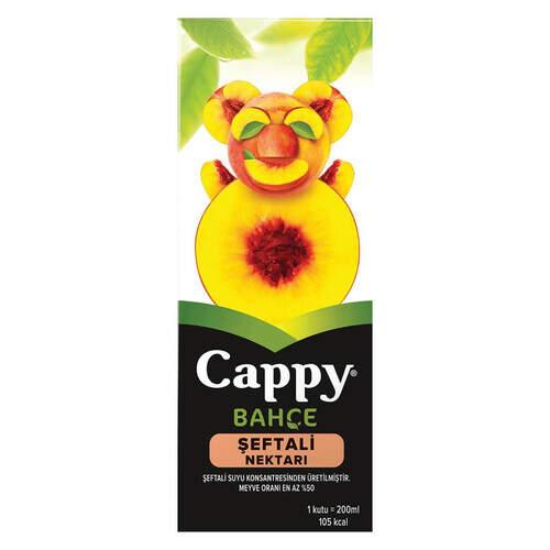 Cappy Meyve Suyu Şeftali 200 Ml.