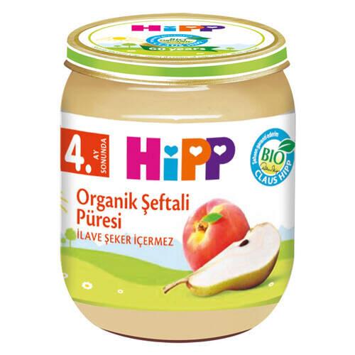 Hipp Organik Şeftali Püresi 125 Gr.