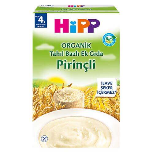 Hipp Organik Pirinçli 200 Gr.
