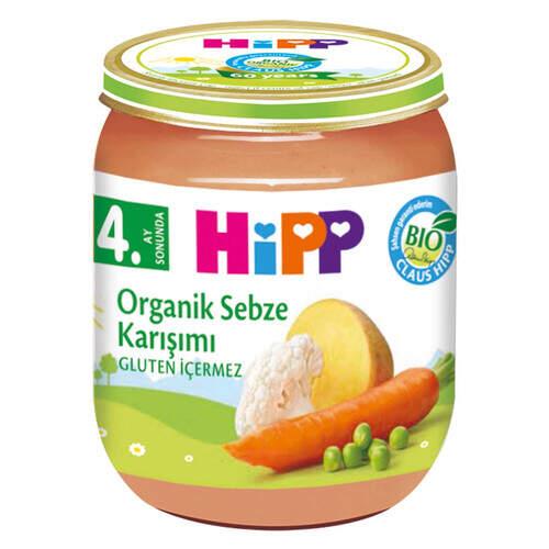 Hipp Organik Sebze Karışımı 125 Gr.