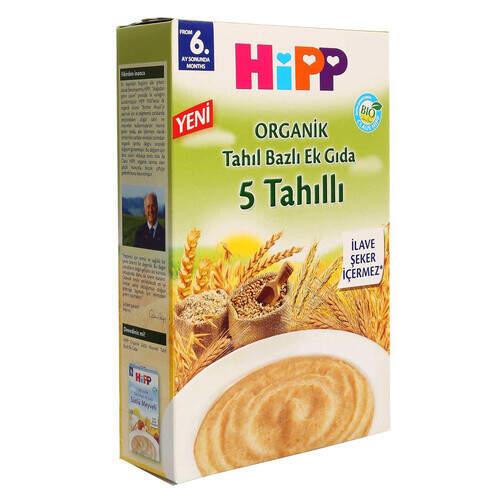 Hipp Organik 5 Tahıllı 200 Gr.